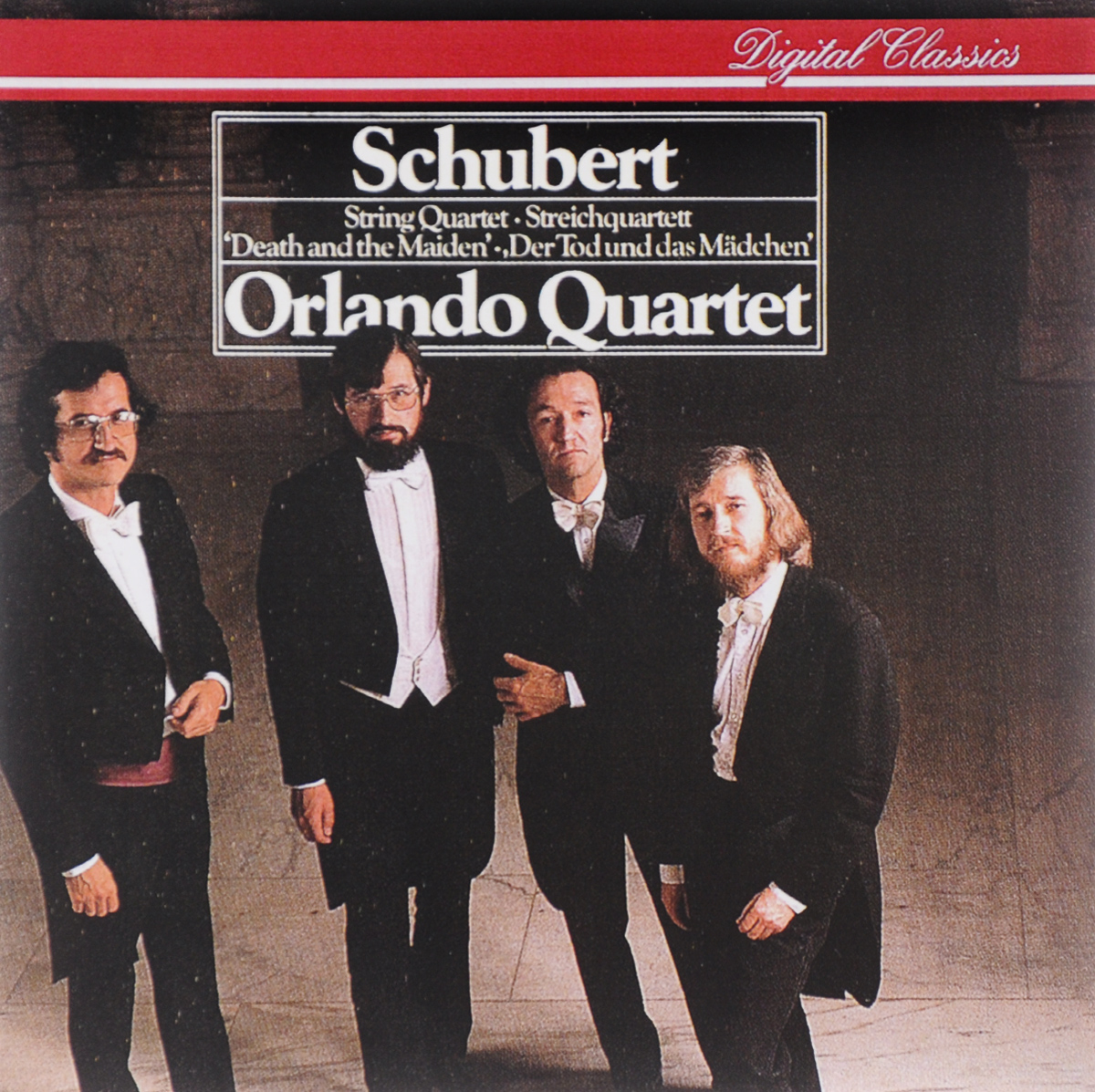 Orlando Quartet. Schubert. String Quartet