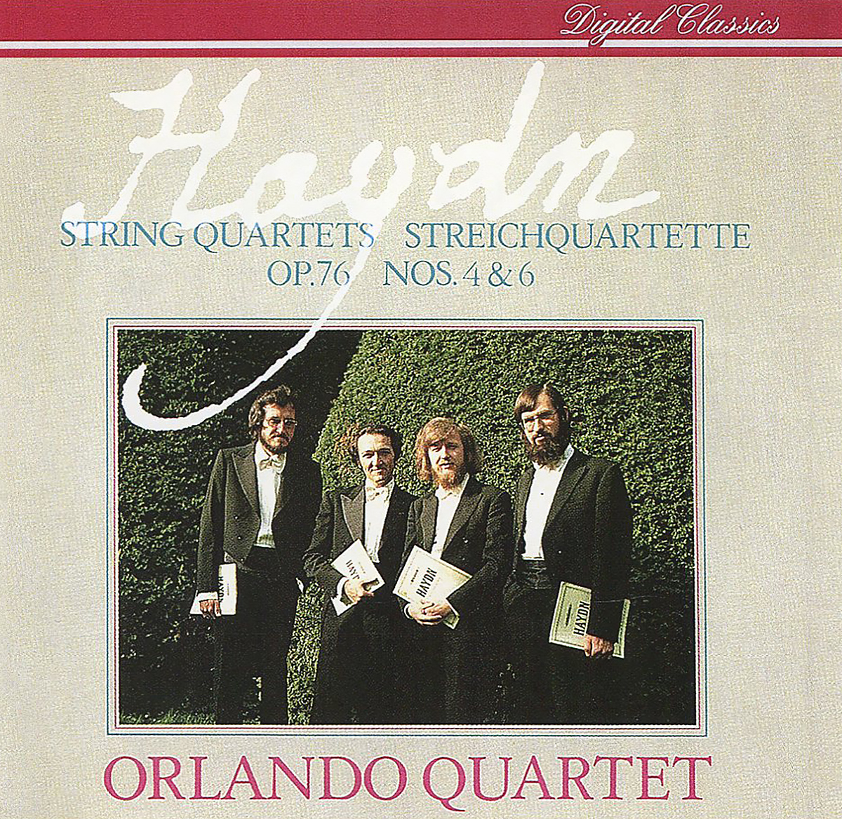 Orlando Quartet Orlando Quartet. Haydn. String Quartets, Op. 76 Nos. 4 & 6 антонин дворжак antonin dvorak vlach quartet string quartet in g major op 106 lp