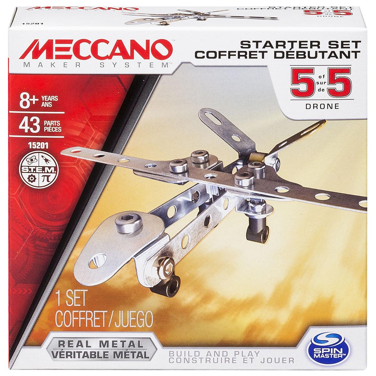 Meccano Конструктор Базовая модель 5 конструкторы meccano игрушка meccano гоночная машина р у 2 модели