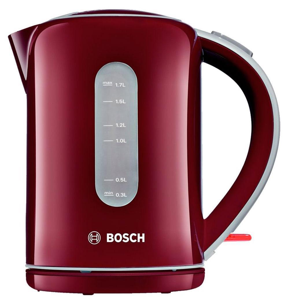 Bosch TWK 7604, Red электрический чайник bosch twk 86104