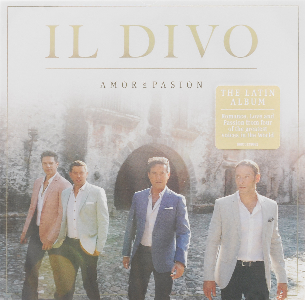Il Divo Il Divo. Amor & Pasion подсвечник бейзик 170мм 1092209