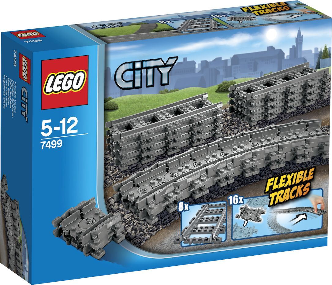 LEGO City Конструктор Гибкие пути 7499 lego city town конструктор отдых на пляже жители lego city 60153