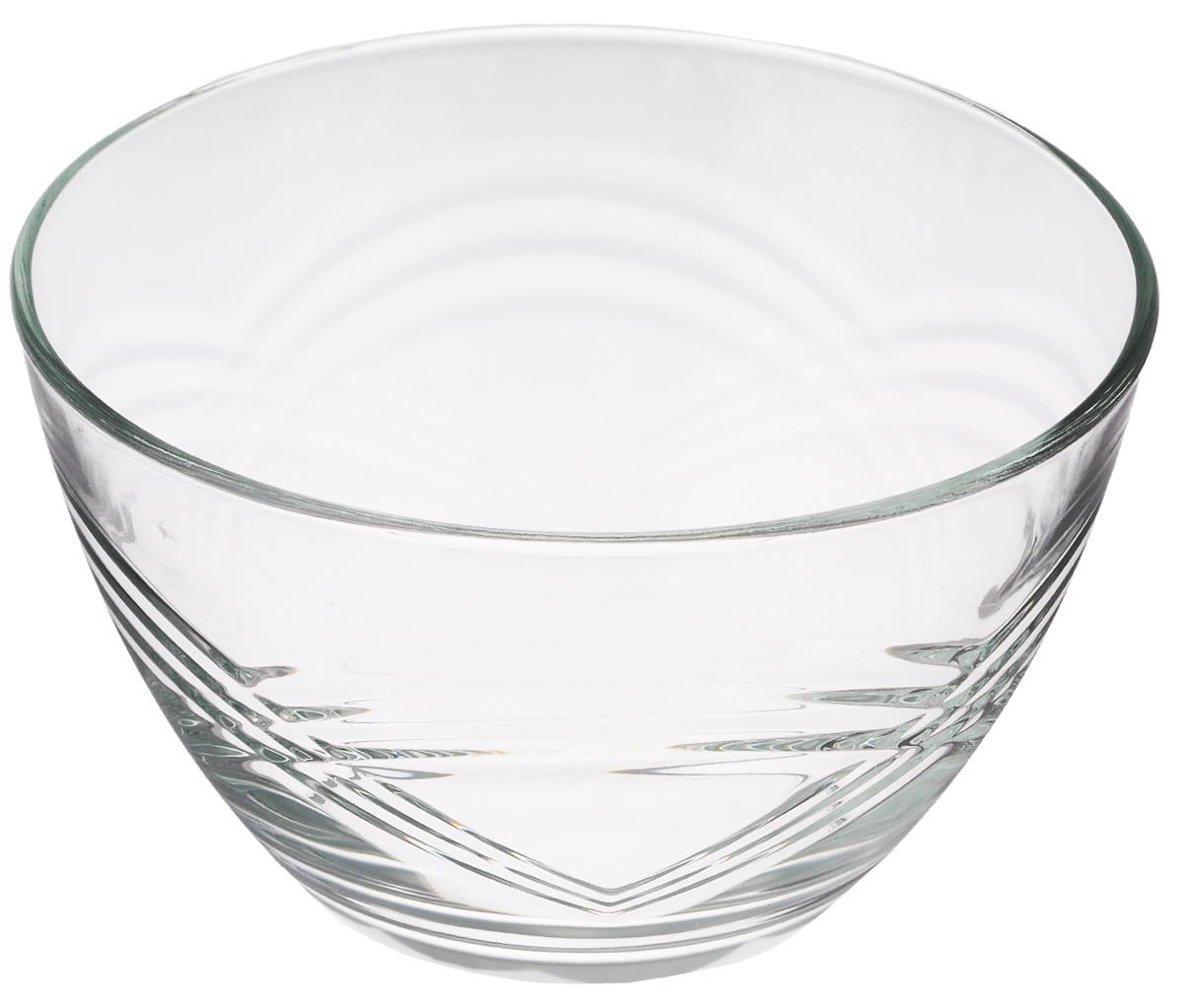 Салатник OSZ Сидней, диаметр 19 см07с1329Салатник OSZ Сидней изготовлен из бесцветного стекла. Идеально подходит для сервировки стола.Салатник не только украсит ваш кухонный стол и подчеркнет прекрасный вкус хозяйки, но и станет отличным подарком.Диаметр салатника (по верхнему краю): 19 см. Диаметр основания: 10 см. Высота салатника: 13 см.