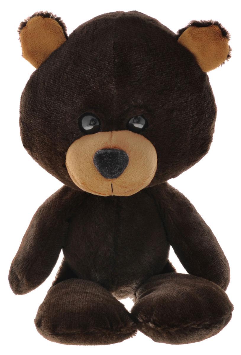 Fancy Мягкая игрушка Мишка Барри цвет коричневый 22 см fancy мягкая игрушка собака эля 14 5 см