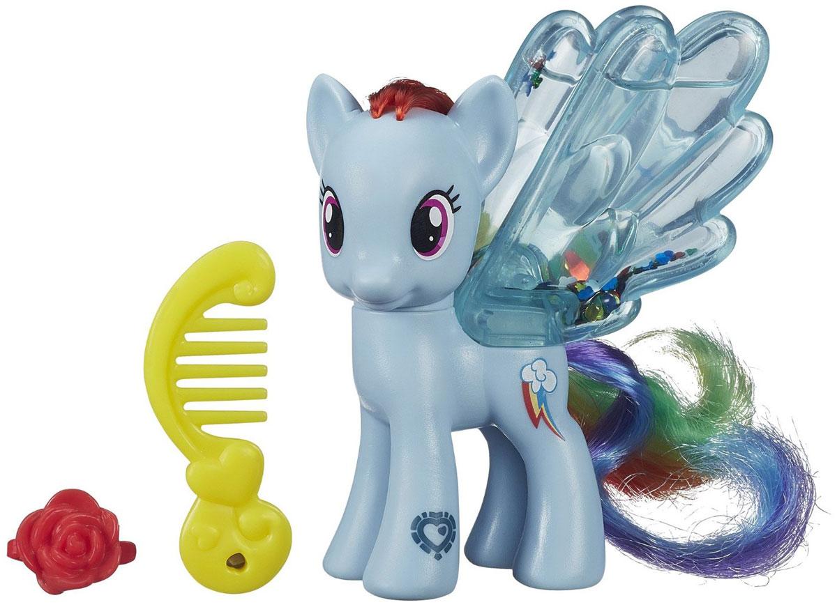 My Little Pony Фигурка Water Cuties Rainbow Dash my little pony игровой набор design a pony rainbow dash