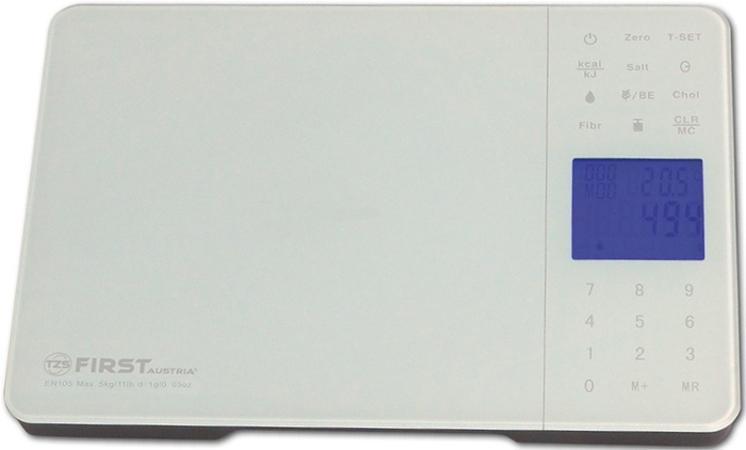 First FA-6407-1, White весы кухонные - Кухонные весы