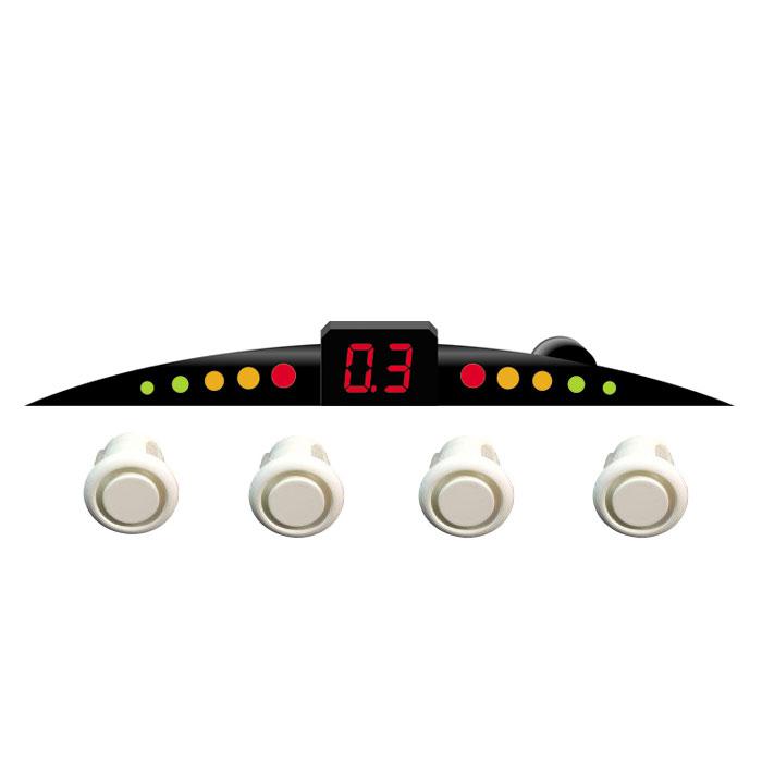 ParkCity Ultra Slim New 418/110, White парковочный радар