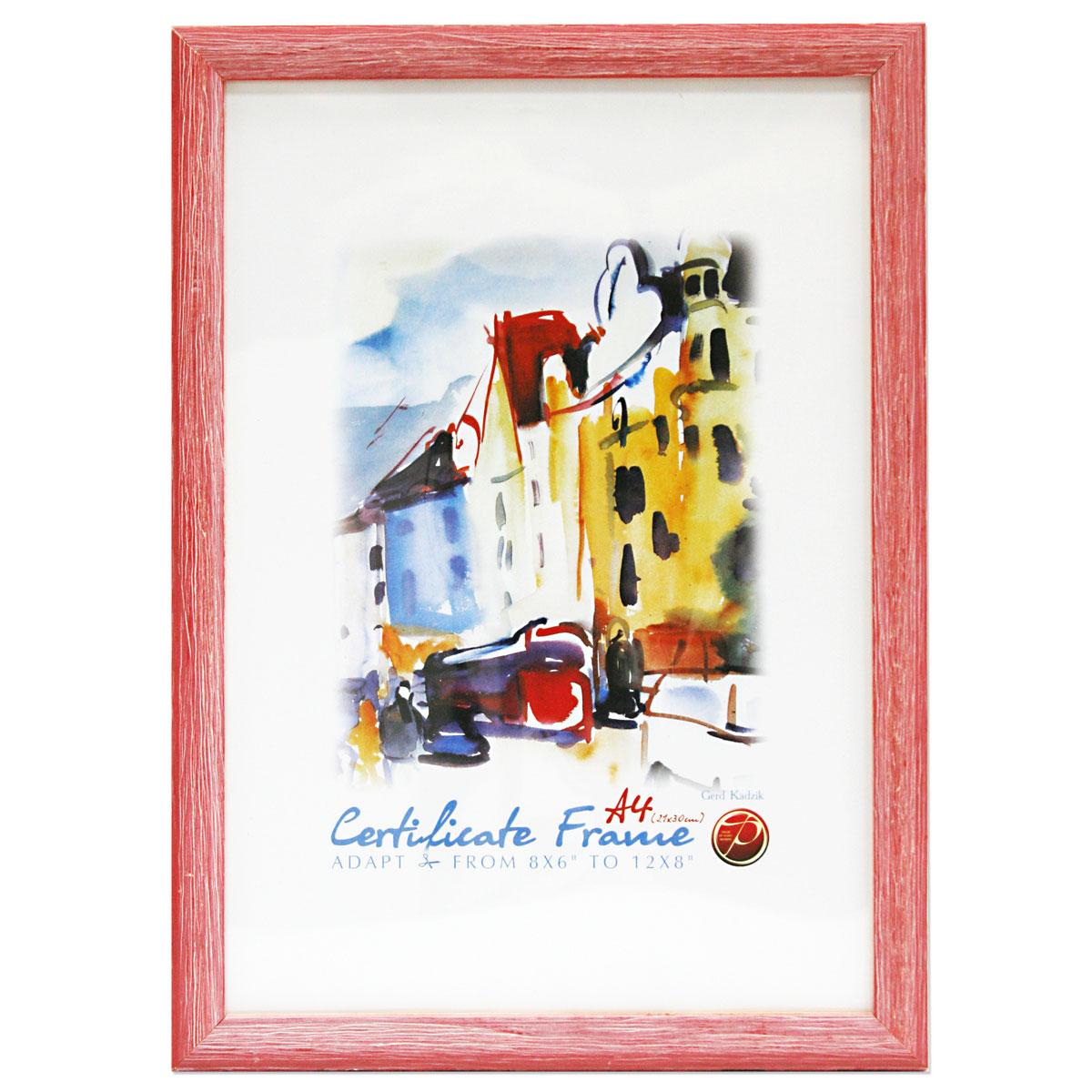 Фоторамка Pioneer Adele, цвет: темно-розовый, 30 х 40 см фоторамка pioneer poster silver для фото 40 x 50 см