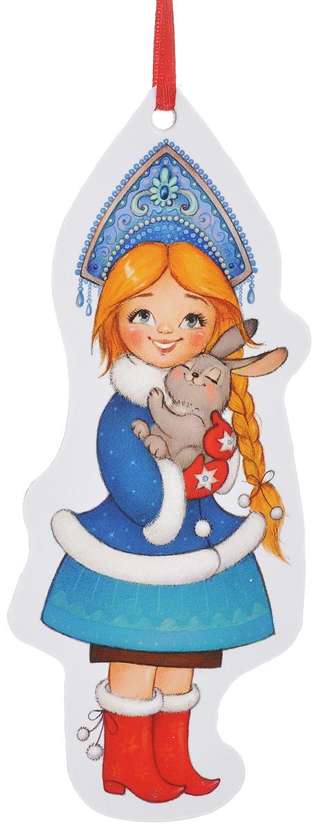 Игрушка-подвеска новогодняя Darinchi Снегурочка, 13 см