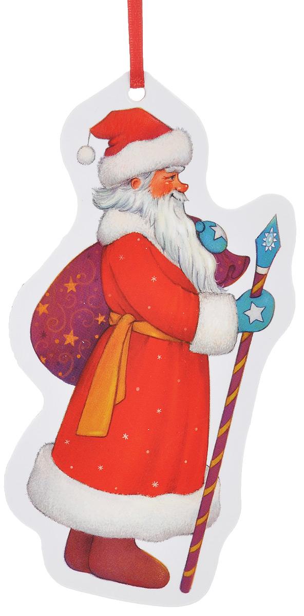 Игрушка-подвеска новогодняя Darinchi Дед Мороз, 14 смTOYNY 6Новогодняя игрушка-подвеска Darinchi Дед Мороз выполнена из плотного картона и оформлена изображением Деда Мороза. Изделие не имеет острых углов.Благодаря текстильной ленточке игрушку можно повесить на елку или в любое другое место. Такая игрушка станет прекрасным украшением интерьера вашего дома в новогодние праздники.