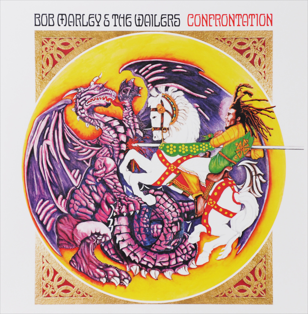 Bob Marley & The Wailers. Confrontation (LP)
