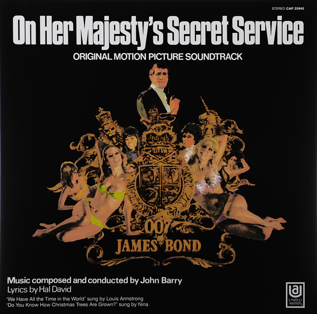 On Her Majesty's Secret Service. Original Motion Picture Soundtrack (LP) free shipping original designjet 430 450 455 488 service station c3190 60142 on sale