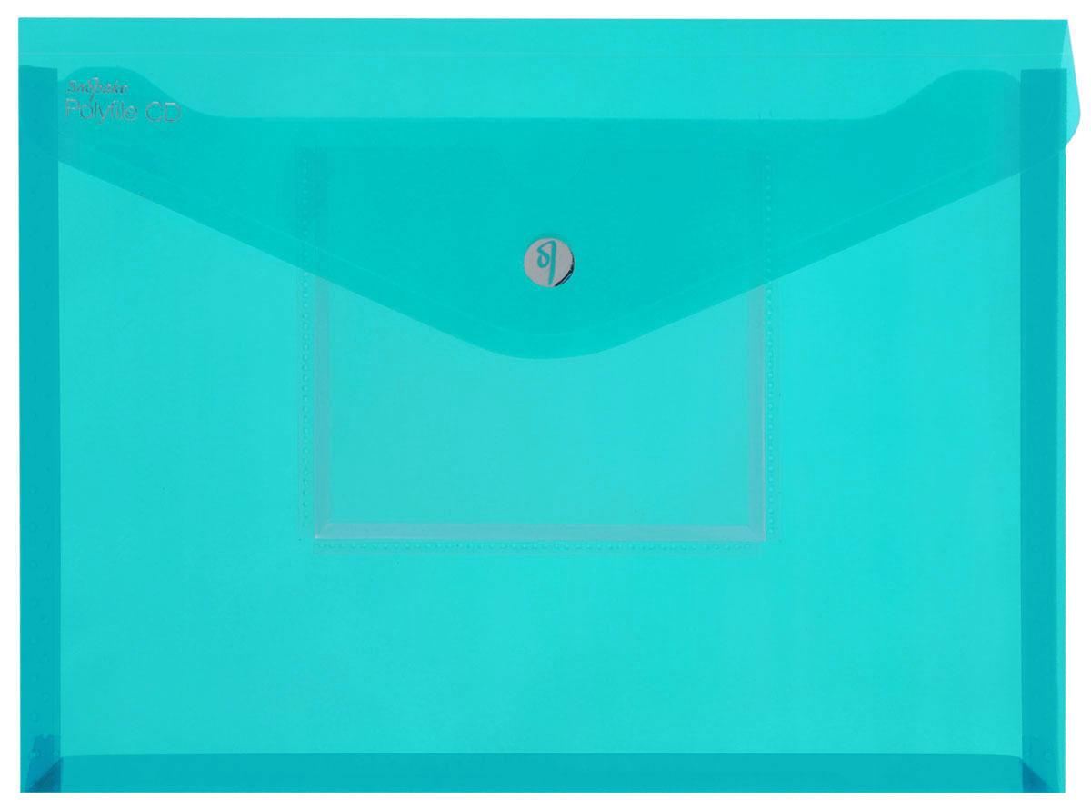 Snopake Папка-конверт Electra на липучке с карманом для CD цвет зеленыйK11800_зеленыйПапка-конверт на липучке Snopake Electra - это удобный и функциональныйофисный инструмент, предназначенный для хранения и транспортировки рабочихбумаг и документов формата А4. Папка позволит хранить печатную и электроннуюкопии информации в одном месте. Вмещает до 300 листов стандартной плотности.Папка изготовлена из износостойкого полупрозрачного полипропилена,закрывается клапаном на липучке. Папка имеет специальную вырубку,облегчающую изъятие документов. На лицевой стороне под клапаном расположенпрозрачный кармашек для CD диска в бумажном конверте или пластиковом кейсе.Папка-конверт - это незаменимый атрибут для студента, школьника, офисногоработника. Такая папка надежно сохранит ваши документы и сбережет их отповреждений, пыли и влаги. Папка сочетает в себе неизменно высокое качествоSnopake и яркие цвета серии Electra.
