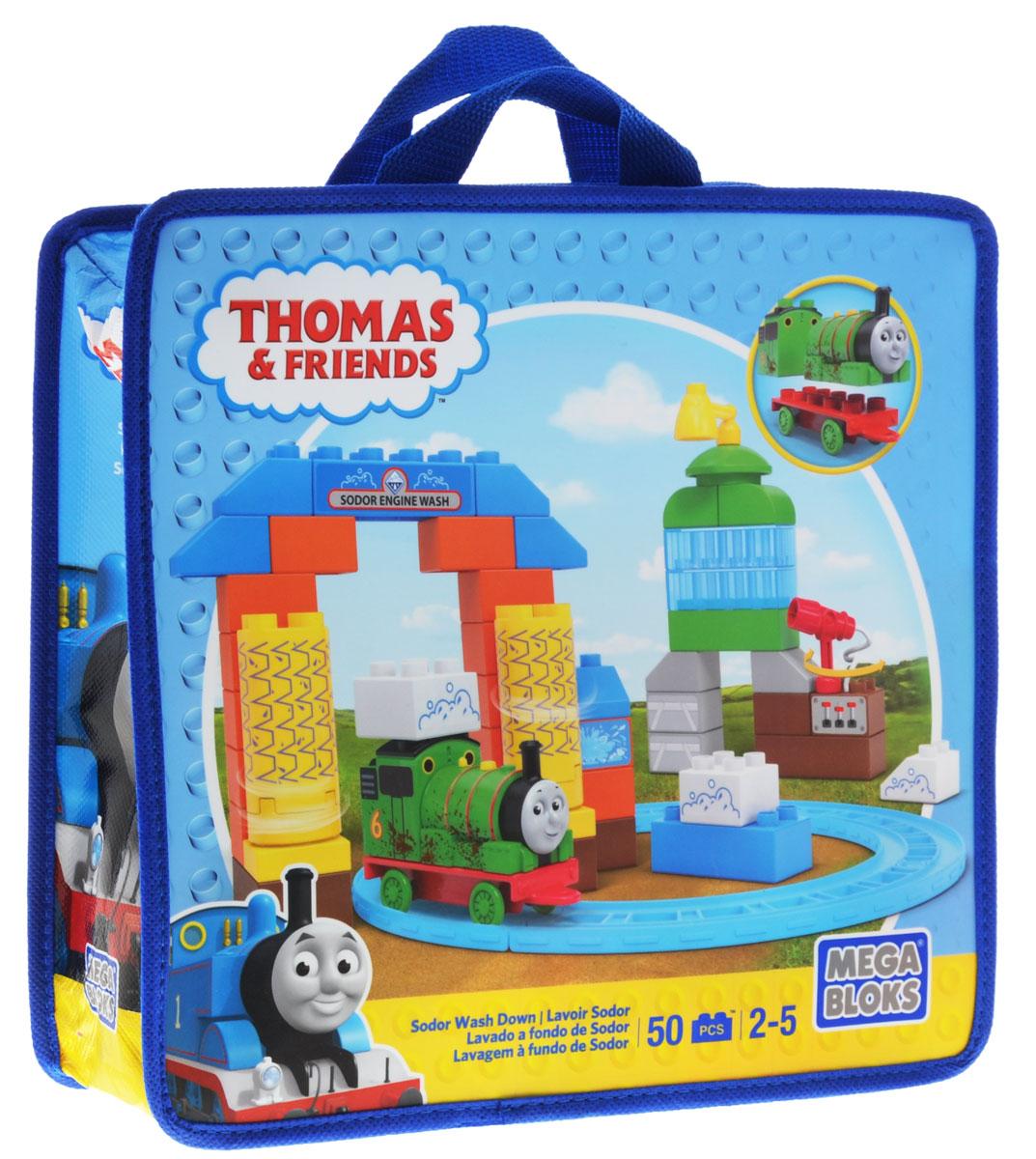 Mega Bloks Томас и друзья Конструктор Мойка на острове Содер