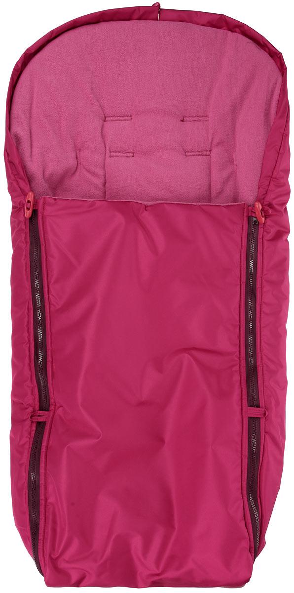 Конверт в коляску Чудо-Чадо, цвет: вишневый. ККФ11-000. Размер универсальный