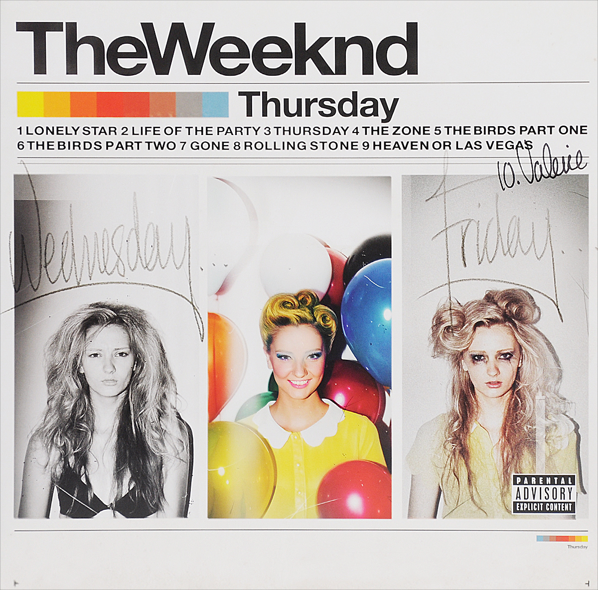 The Weeknd The Weeknd. Thursday (2 LP) the weeknd the weeknd thursday 2 lp