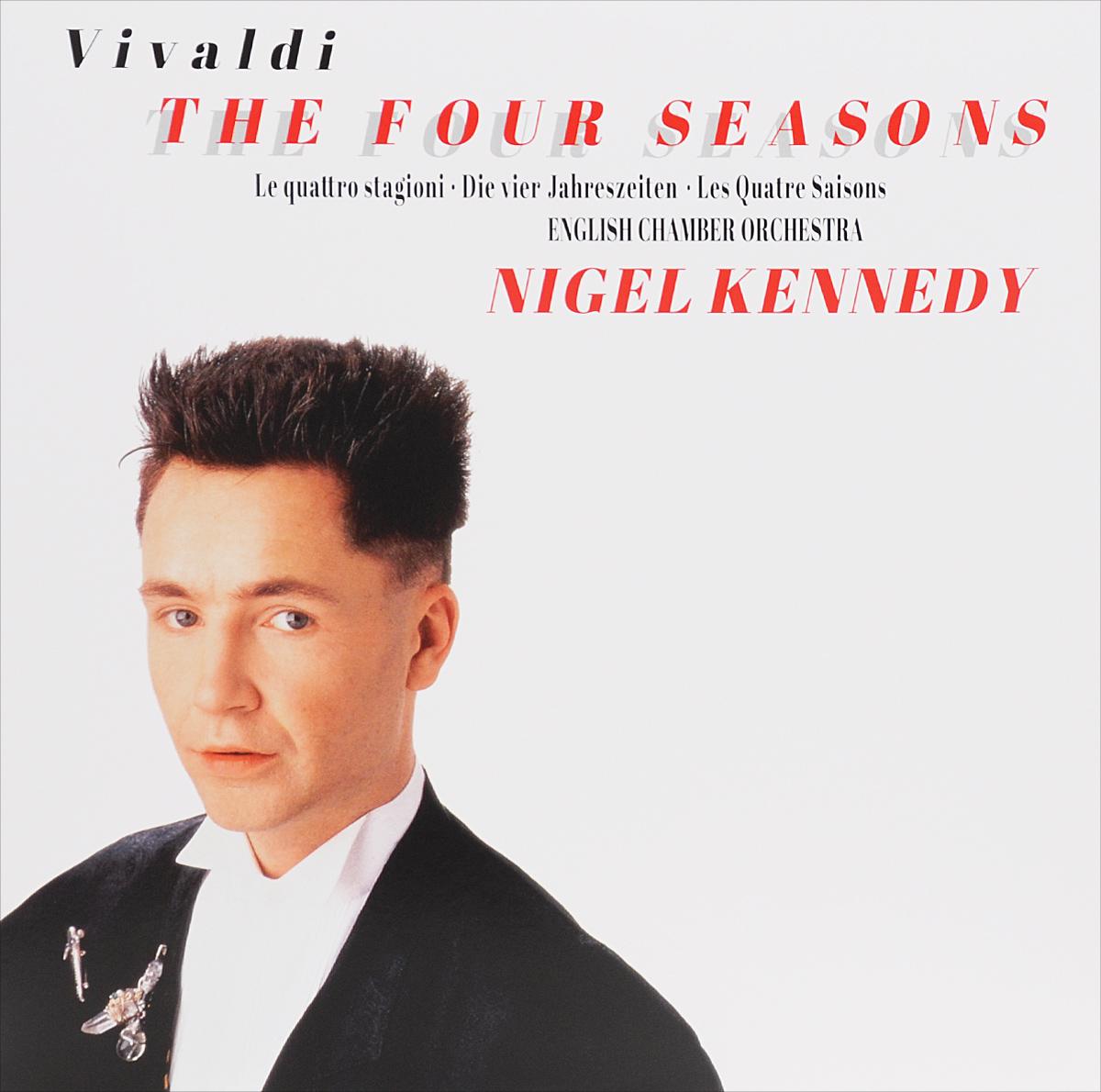 Нейджел Кеннеди,English Chamber Orchestra Nigel Kennedy. Vivaldi. The Four Seasons (LP) ethnic style tribal print elastic waist skirt for women