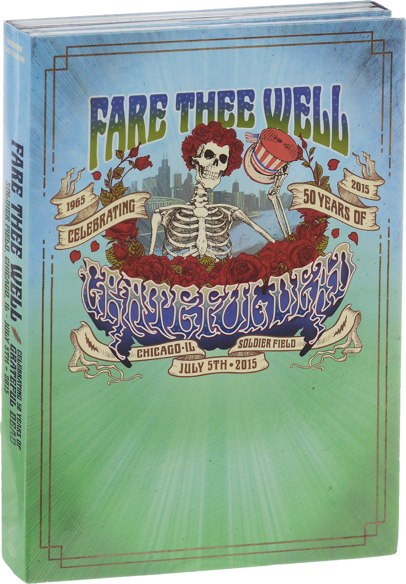 The Grateful Dead Grateful Dead. Fare Thee Well Celebrating 50 Years Of Grateful Dead (3 CD + 2 Blu-ray) samson rh600