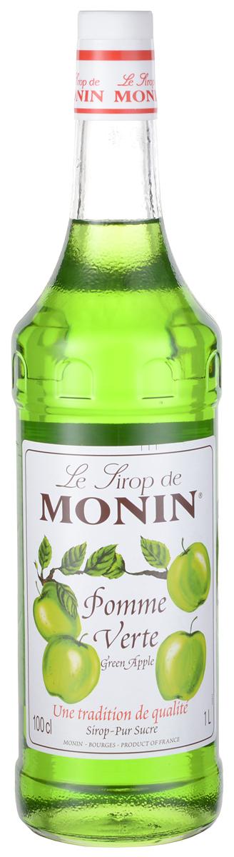 Monin Зеленое яблоко сироп, 1 лSMONN0-000057Зеленые яблоки имеют светло-зеленый цвет, хотя у некоторых может быть розовый румянец. Хрустящие, сочные, сладкие яблоки, которые превосходны для приготовления пищи и употребления в сыром виде попали в сироп Monin Зеленое яблоко.ВКУСЗапах свежесрезанных яблок Granny Smith, терпкий, сладкий и сочный вкус зеленого яблока, очень освежает.ПРИМЕНЕНИЕГазированные напитки, лимонады, коктейли, чай, фруктовые пунши, коктейли.Сиропы Monin выпускает одноименная французская марка, которая известна как лидирующий производитель алкогольных и безалкогольных сиропов в мире. В 1912 году во французском городке Бурже девятнадцатилетний предприниматель Джордж Монин основал собственную компанию, которая специализировалась на производстве вин, ликеров и сиропов. Место для завода было выбрано не случайно: город Бурже находился в непосредственной близости от крупных сельскохозяйственных районов - главных поставщиков свежих ягод и фруктов. Производство сиропов стало ключевым направлением деятельности компании Monin только в 1945 году, когда пост главы предприятия занял потомок основателя - Пол Монин. Именно под его руководством ассортимент марки пополнился разнообразными сиропами из натуральных ингредиентов, которые молниеносно заслужили блестящую репутацию в кругу поклонников кофейных напитков и коктейлей. По сей день высокое качество остается базовым принципом деятельности французской марки. Сиропы Монин создаются исключительно из натуральных ингредиентов по уникальным технологиям, позволяющим сохранять в готовом продукте все полезные свойства природного сырья.Эксперты всего мира сходятся во мнении, что сиропы Monin - это законодатели мод в миксологии. Ассортимент французской марки на сегодняшний день является самым широким и насчитывает полторы сотни уникальных вкусовых решений. В каталоге компании можно найти как классические вкусы для кофейных напитков (шоколадный, ванильный, ореховый и другие сиропы), так и весьма экзотические варианты (сиро