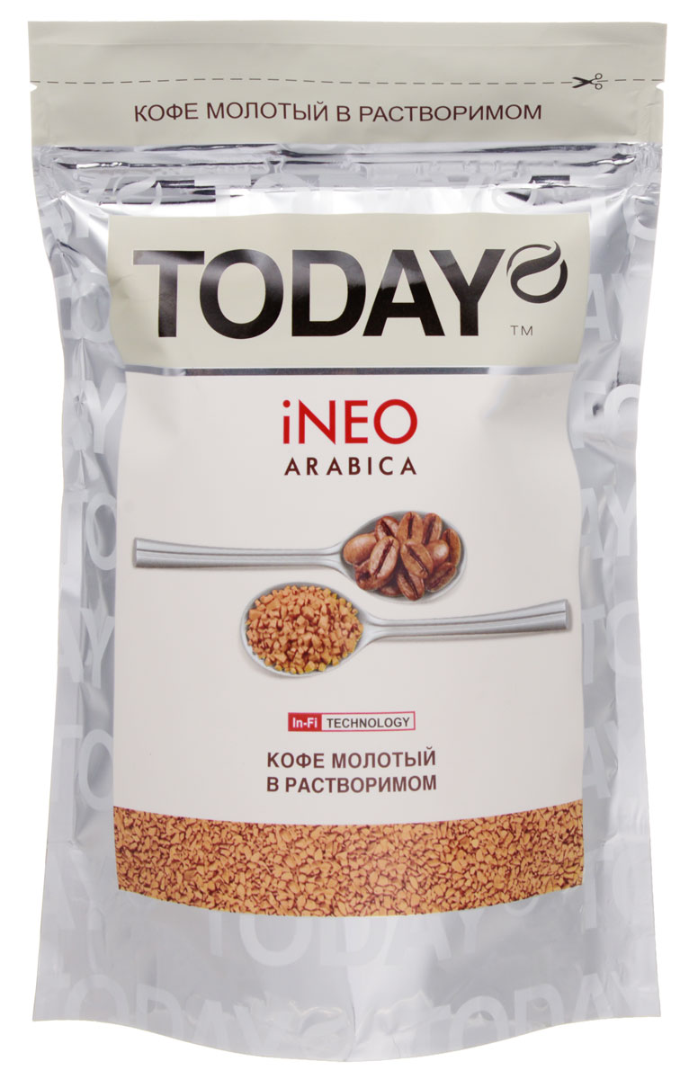 Today Ineo кофе растворимый, 150 г кофе эгоист волгоград