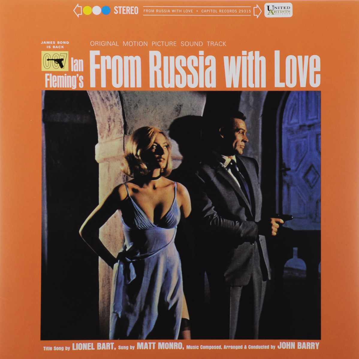 From Russia With Love. Original Motion Picture Sound Track (LP) black girl original sound track recording