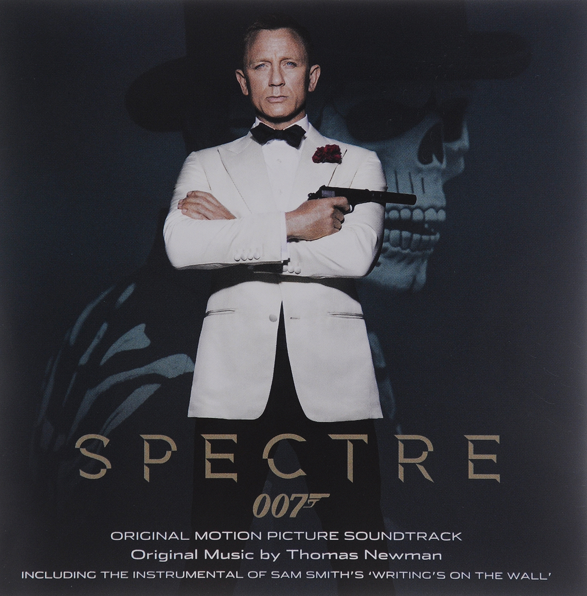 Spectre. Original Motion Picture Soundtrack. Original Music By Thomas Newman whiplash original motion picture soundtrack