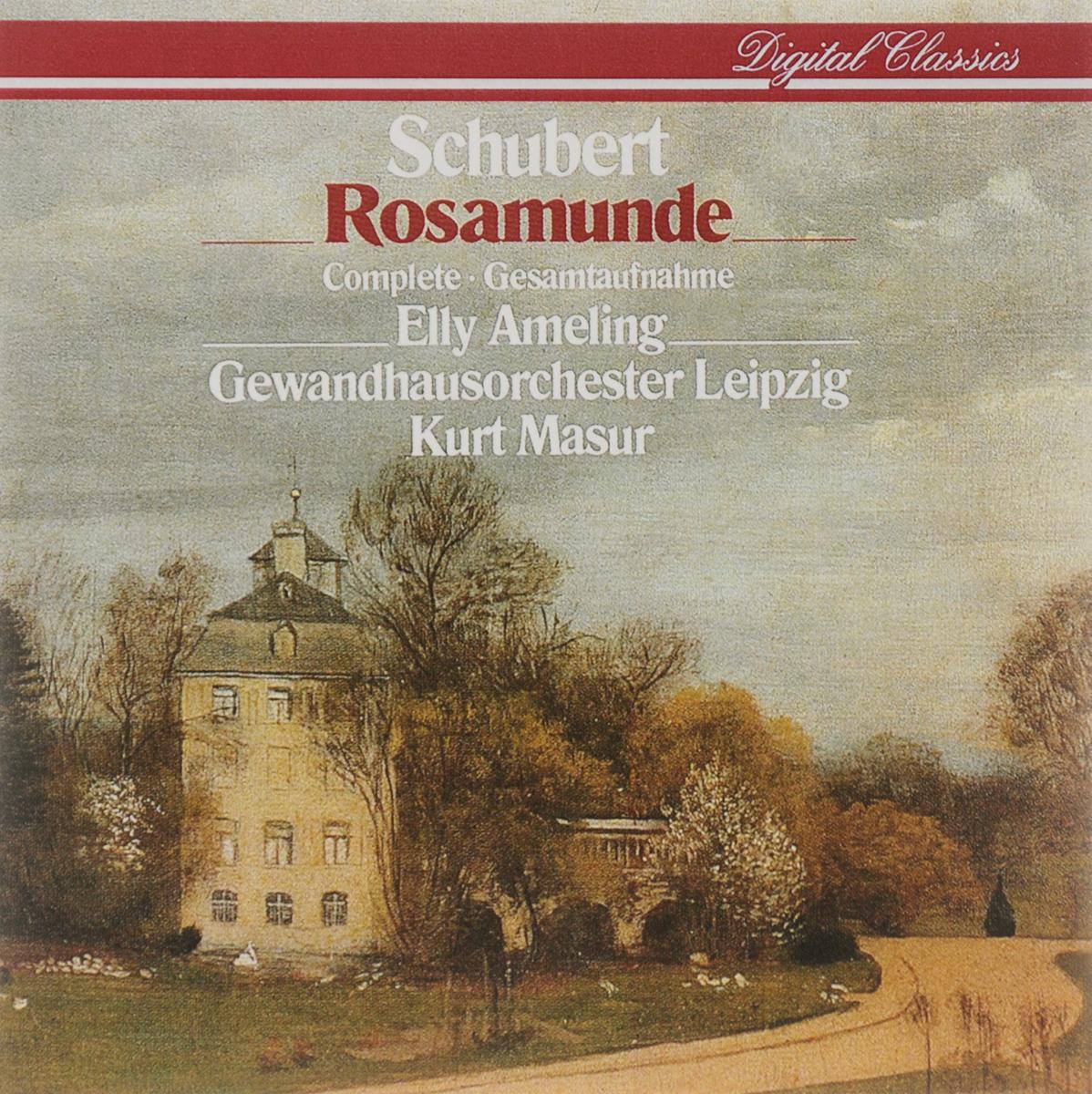 Курт Мазур,Elly Ameling,Gewandhausorchester Leipzig Kurt Masur. Schubert. Rosamunde per gessle leipzig