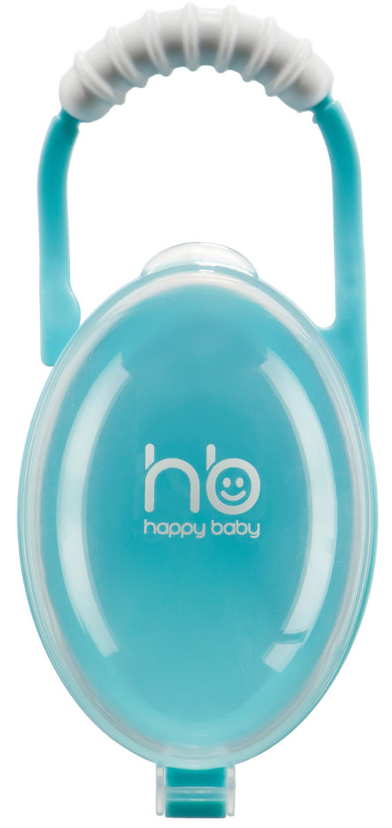 Happy Baby Контейнер для пустышки Souther Box цвет голубой защитные накладки для дома happy baby фиксатор для двери door stopper
