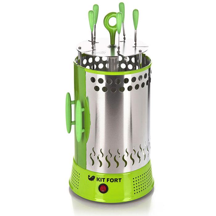 Kitfort KT-1402 электрошашлычница