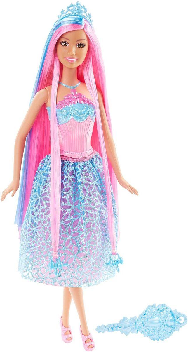 Barbie Кукла Принцесса с длинными волосами цвет одежды розовый голубой куклы barbie куклы принцессы с длинными волосами