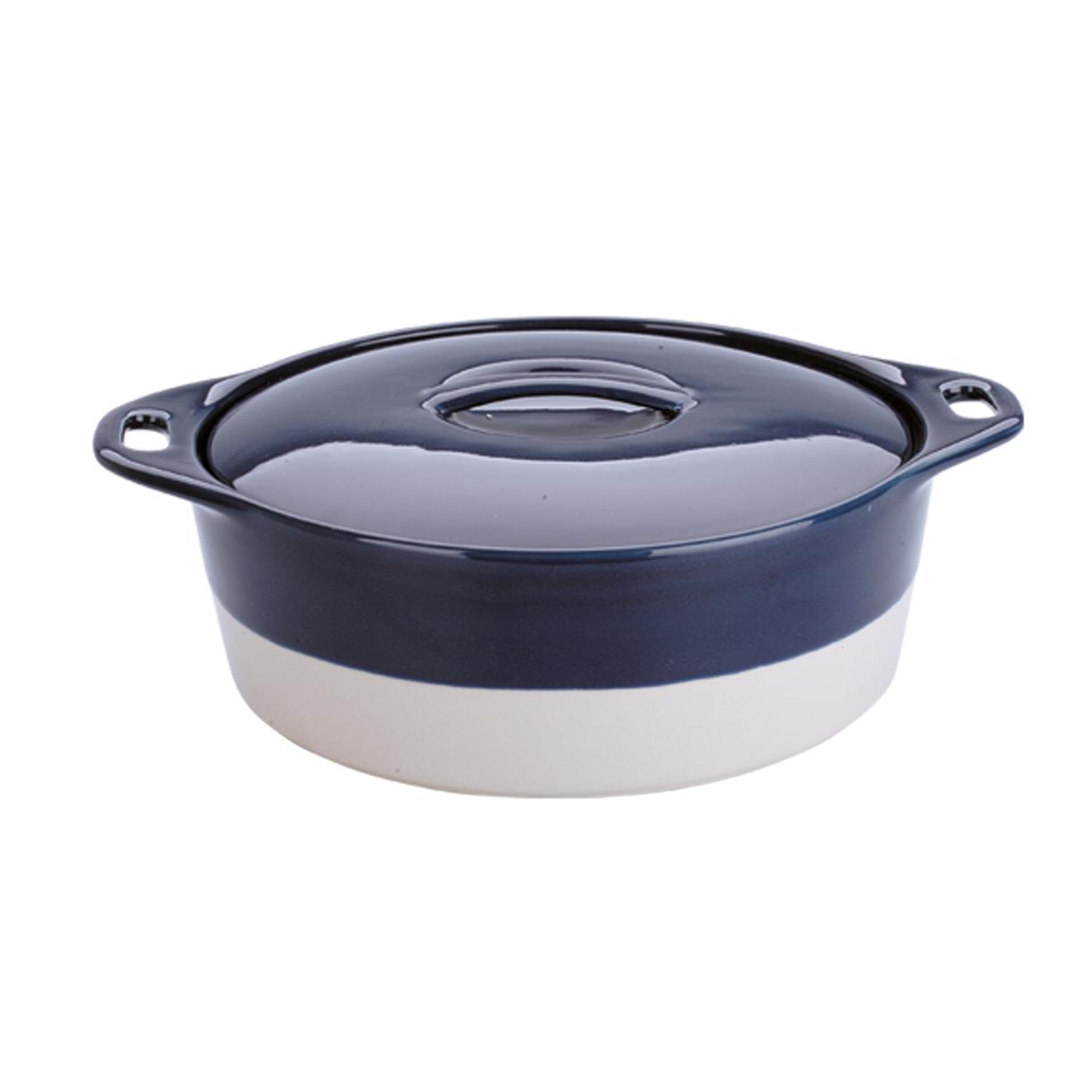 Керамическая кастрюля Dekok с крышкой 1,8лHR-1060Для приготовления блюд в духовке, мкроволновой печи, для хранения в холодильнике и морозильной камере. Устойчива к температурам от -20 до +210 С. В комплекте крышка.