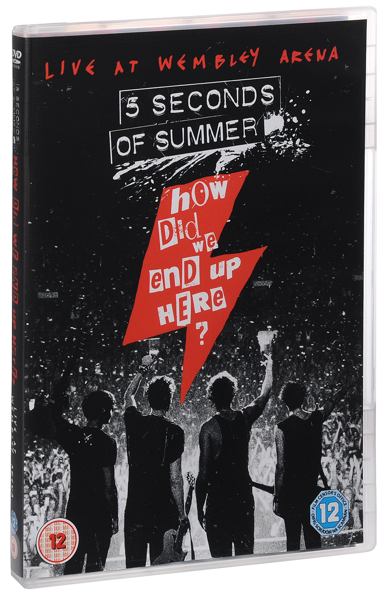 5 Seconds Of Summer: How Did We End Up Here? Live At Wembley Arena how i live now