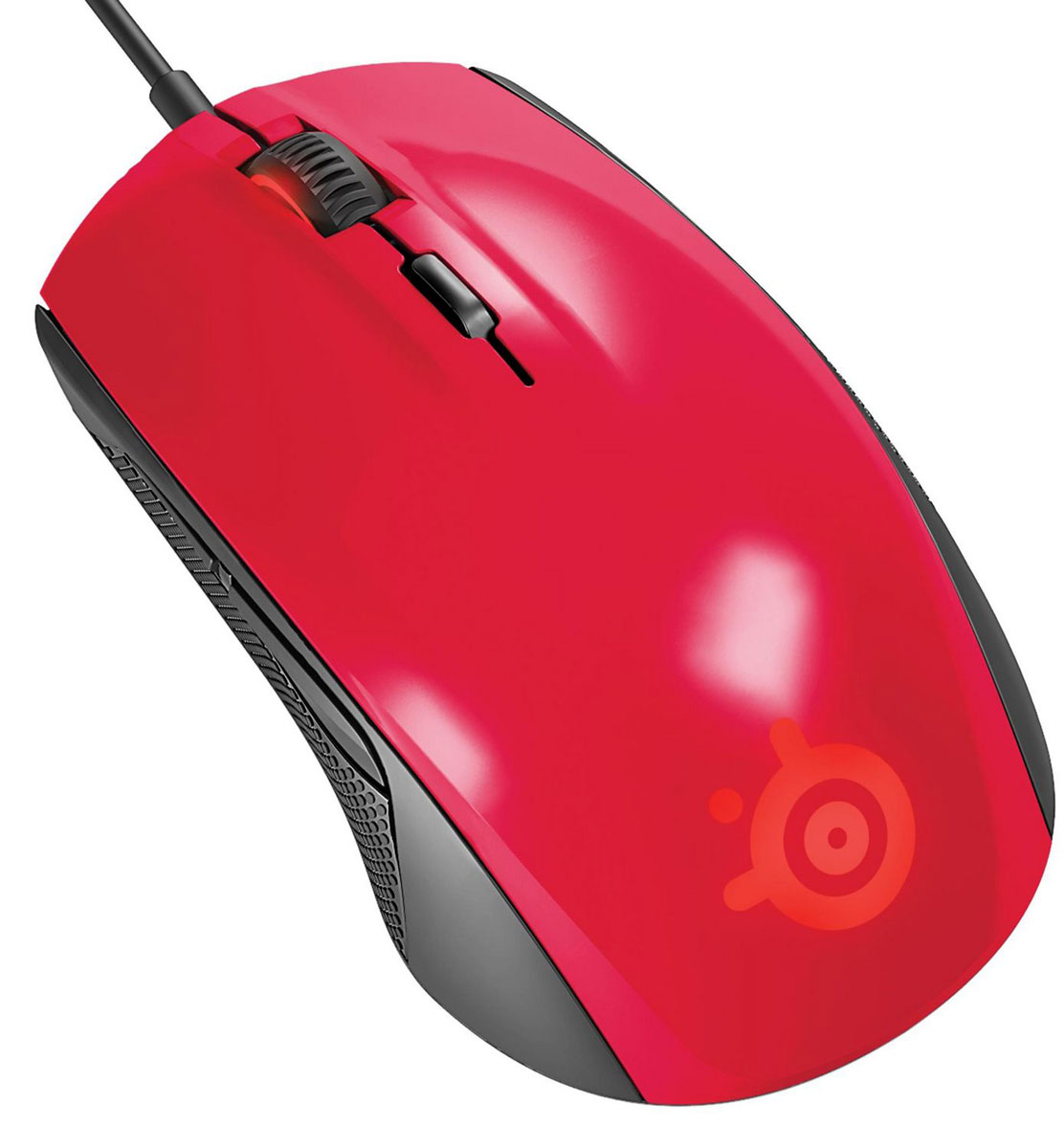 SteelSeries Rival 100, Forged Red игровая мышь steelseries rival 500 62051