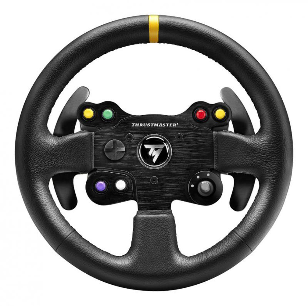 Thrustmaster TM Leather 28GT Wheel Add-On, Black руль tm chocolatte биотоник для лица аква баланс с пребиотиками 100 мл