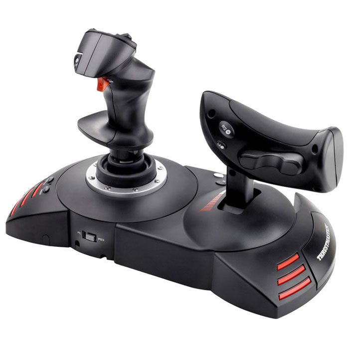 Thrustmaster T-Flight Hotas X, Black джойстик + подарок от War Thunder джойстик для компа