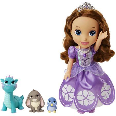Disney Princess Кукла Princess Sofia and Animal Friends sofia the first софия в подводном мире