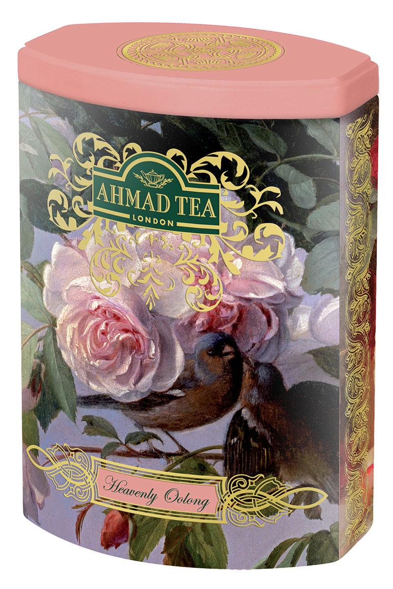Ahmad Tea Небесный Улун листовой чай улун, 100 г (ж/б)1173N1Ahmad Tea Небесный Улун - нежный чай, собранный на склонах гор провинции Фуцзянь в Китае. Он вобрал в себя свежесть горного воздуха, запах листвы и диких цветов. Улун относится к полуферментированным чаям. Он не содержит во вкусе горчинки и обладает утонченным карамельным послевкусием. Подобно винам, вкус улунов во многом зависит от конкретного места их произрастания: почвы, высоты, окружающих растений, количества полученной влаги и солнечного тепла. Чай Небесный Улун – истинное наслаждение для гурмана.