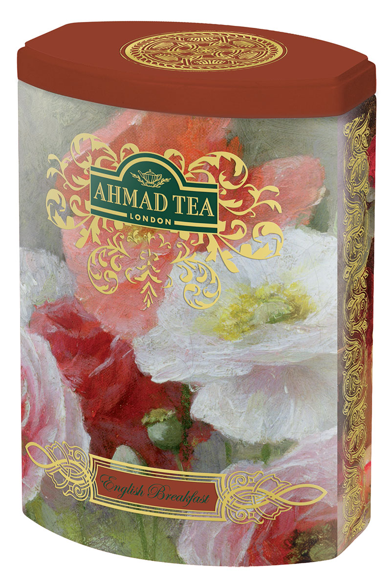 Ahmad Tea English Breakfast черный листовой чай, 100 г (ж/б) ahmad tea weekend collection набор чая в пирамидках 3 вкуса 108 г