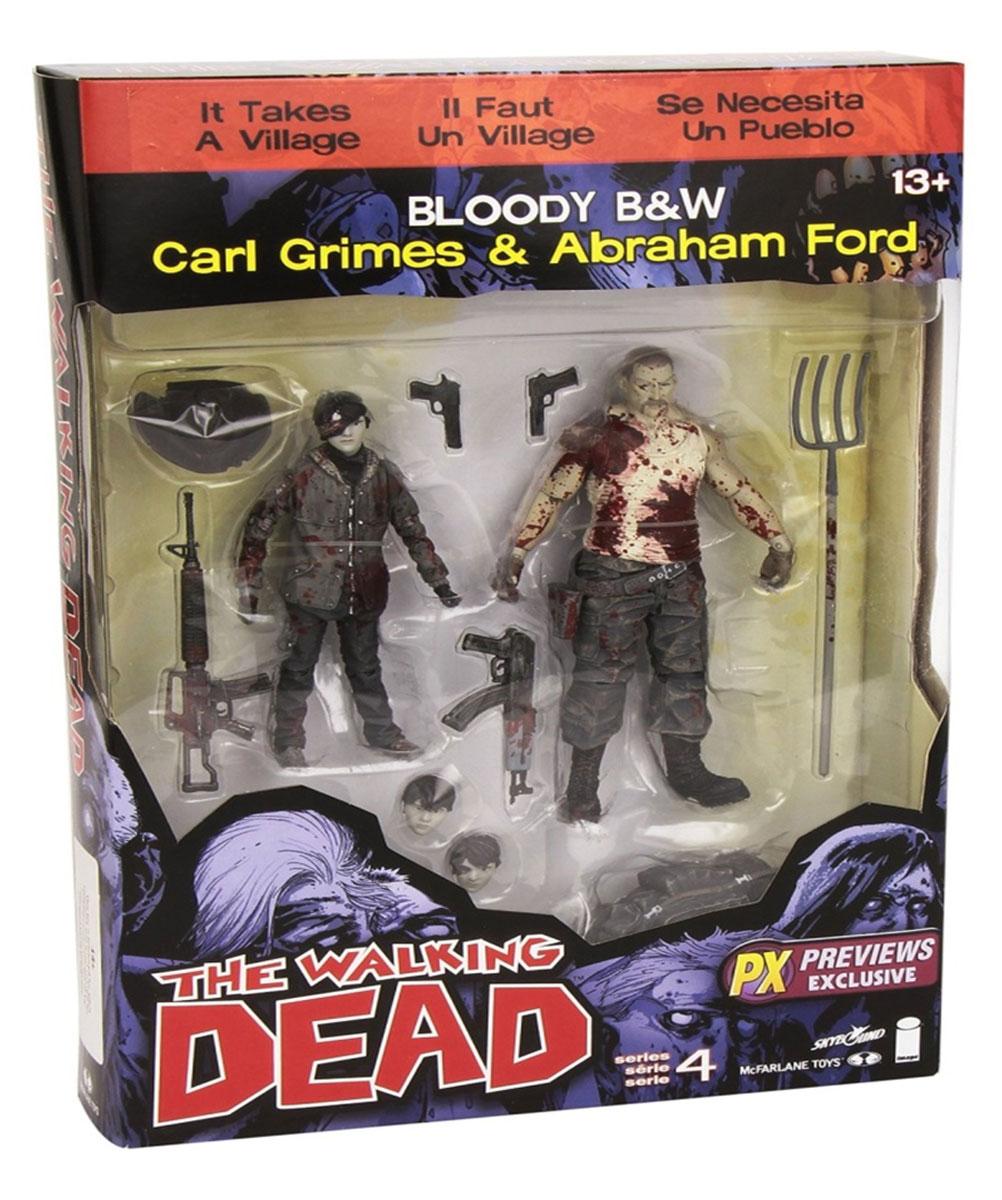 Walking Dead. Набор фигурок Carl/Abraham (2 шт) набор фигурок the walking dead 4 в 1 8 см