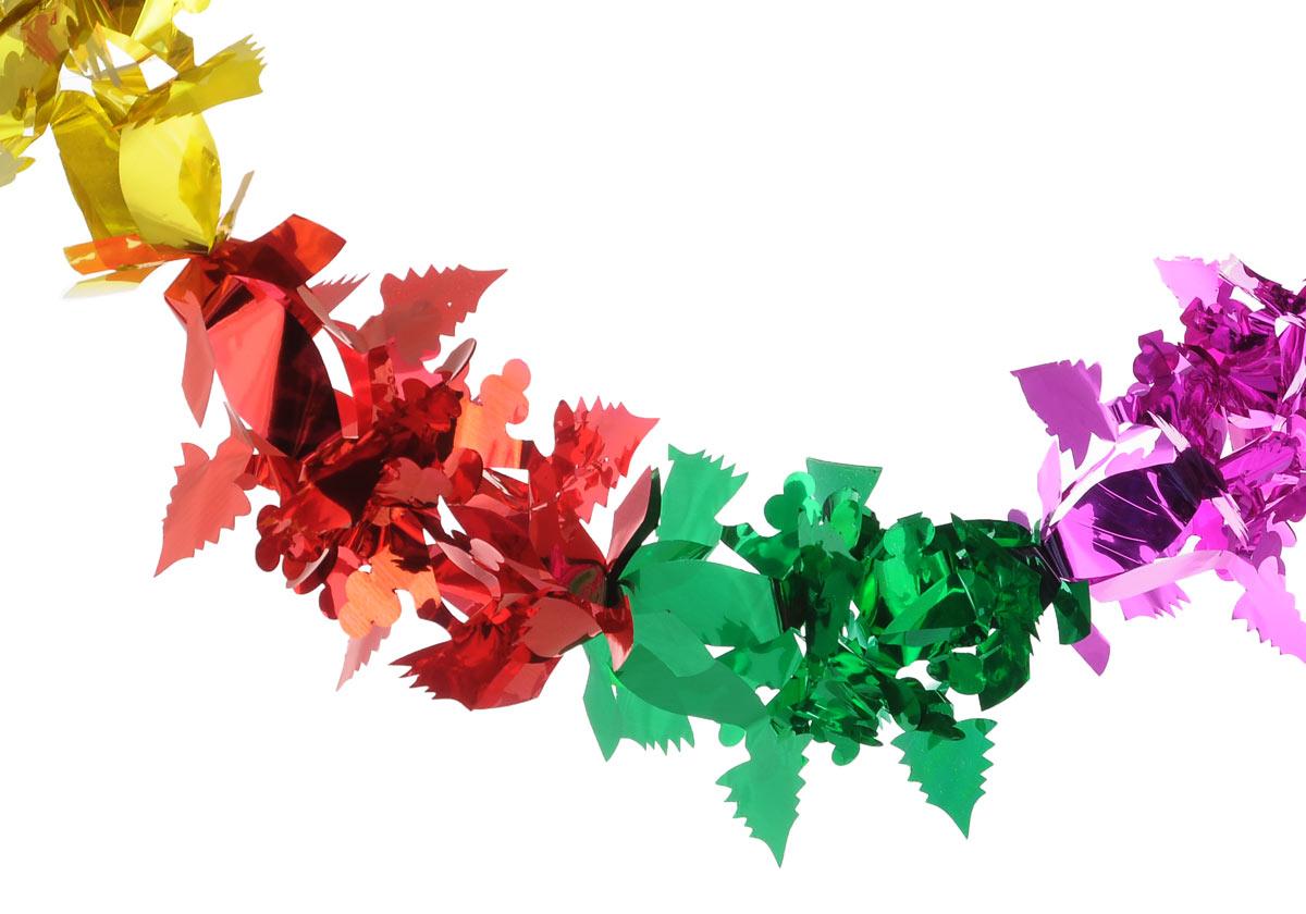 Гирлянда новогодняя Феникс-Презент Снежинка с елочками, длина 2,6 м30981Новогодняя гирлянда Феникс-Презент Снежинка с елочками состоит из серии разноцветных фигурок, изготовленных из ПЭТ (полиэтилентерефталата). Изделие легко складывается и раскладывается. Новогодние украшения несут в себе волшебство и красоту праздника. Они помогут вам украсить дом к предстоящим праздникам и оживить интерьер по вашему вкусу. Создайте в доме атмосферу тепла, веселья и радости, украшая его всей семьей.Размер фигурки (в сложенном виде): 18 см х 18 см.
