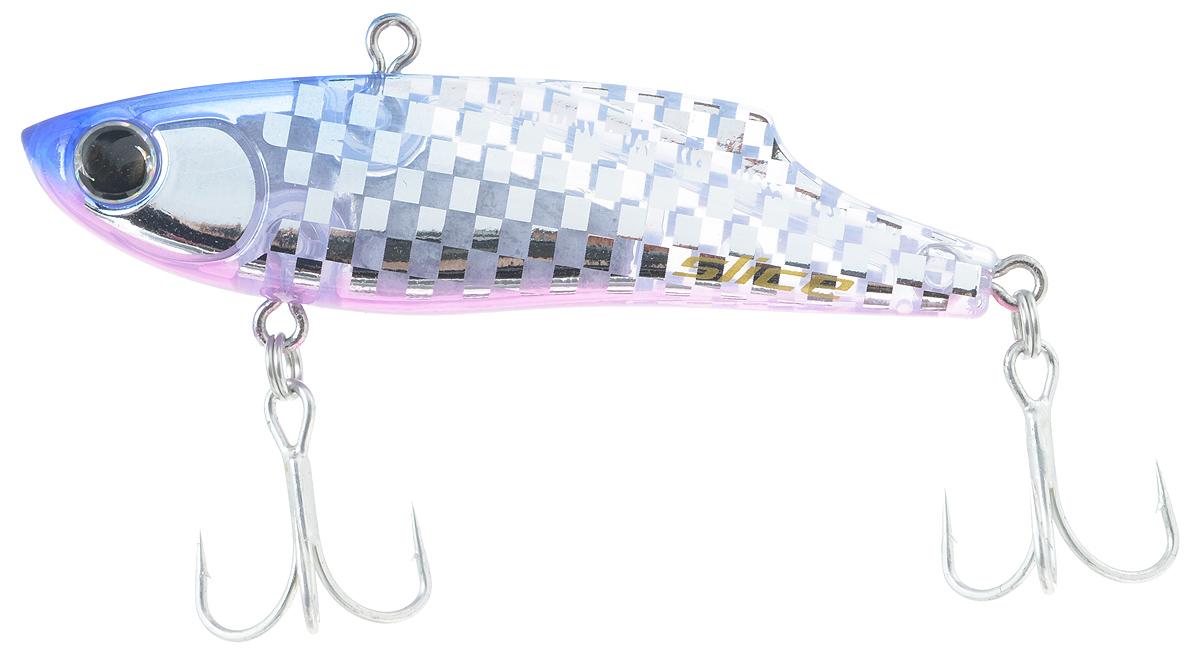 Воблер Maria Slice, тонущий, цвет: синий, прозрачный, 7 см, 15 г