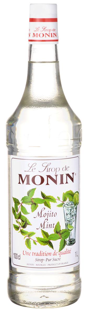 Monin Мохито ментол сироп, 1 л сироп monin мохито стекло 1 л