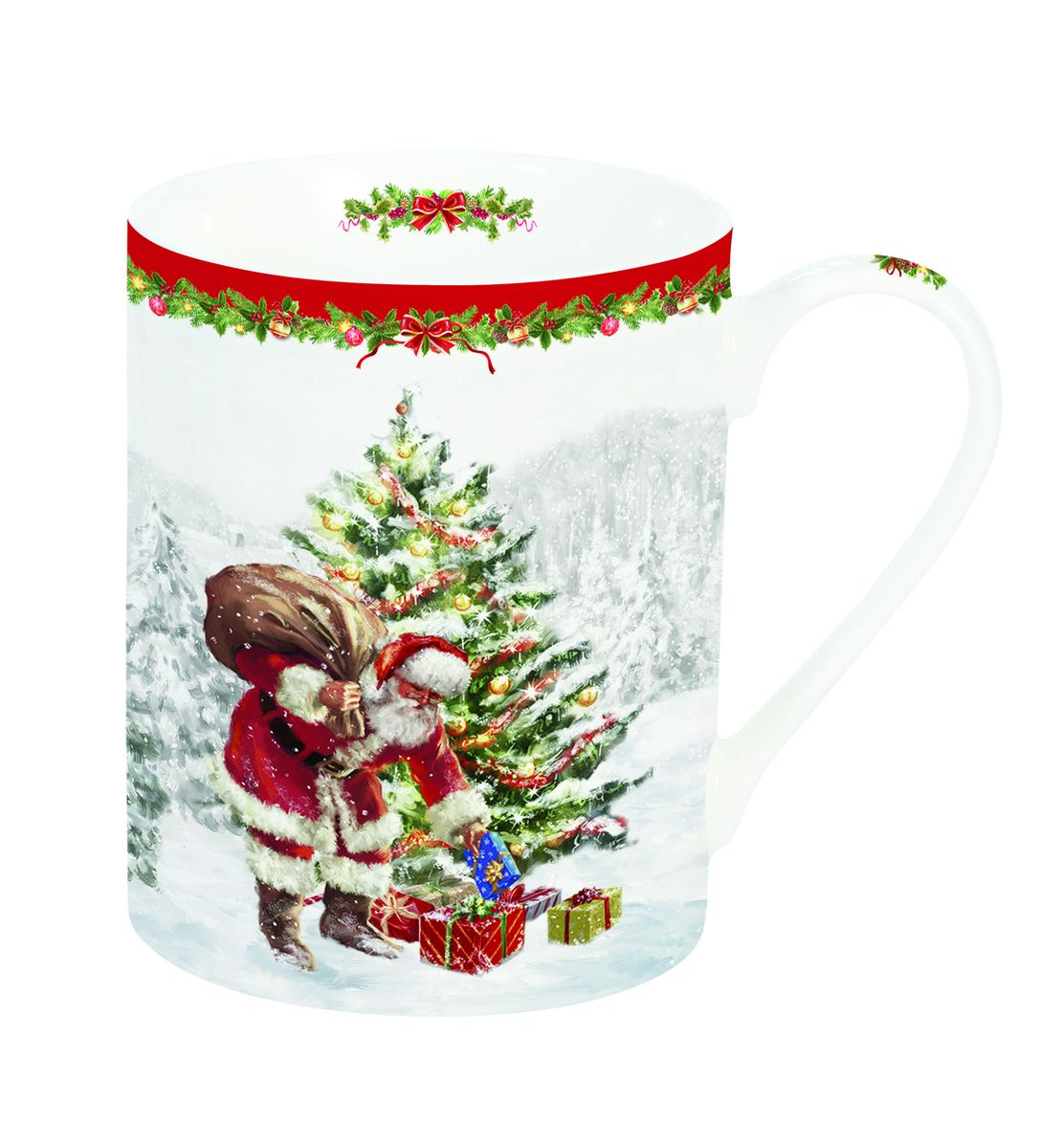 214CHTR Кружка Дед Мороз с подарками 300мл214CHTR
