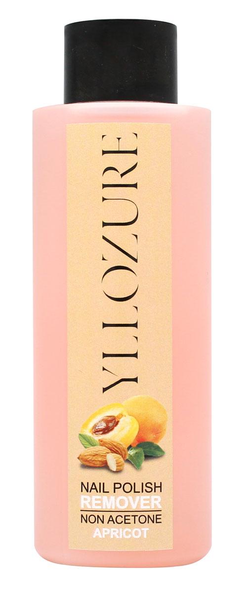 YZ Жидкость для снятия лака Абрикос, 120 мл жидкость для снятия лака увлажняющая для сухих и хрупких ногтей