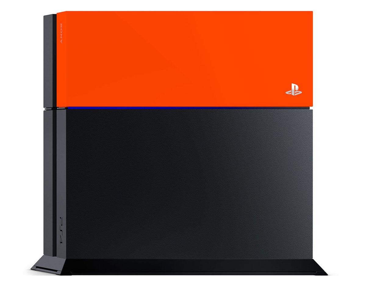Дополнительная крышка для жесткого диска PS4 (оранжевая)