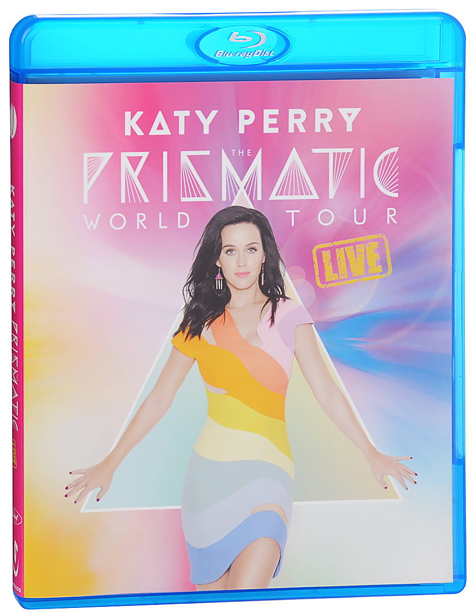 Katy Perry: The Prismatic World Tour Live (Blu-ray) helloween keeper on the seven keys the legacy world tour 2005 2006 2 dvd