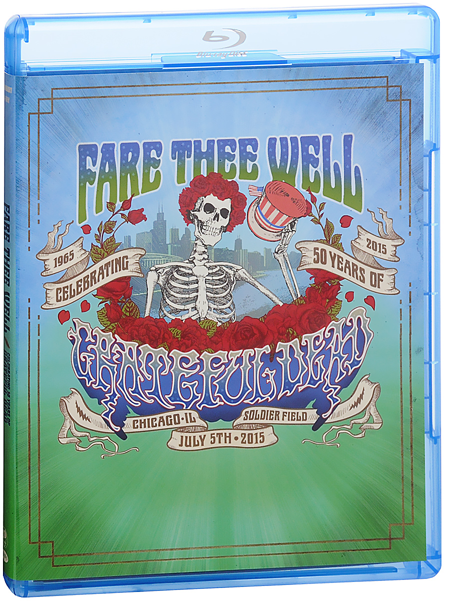 Crateful Dead: Fare Thee Well Celebrating 50 Years Of Crateful Dead (2 Blu-ray) fare thee well cd