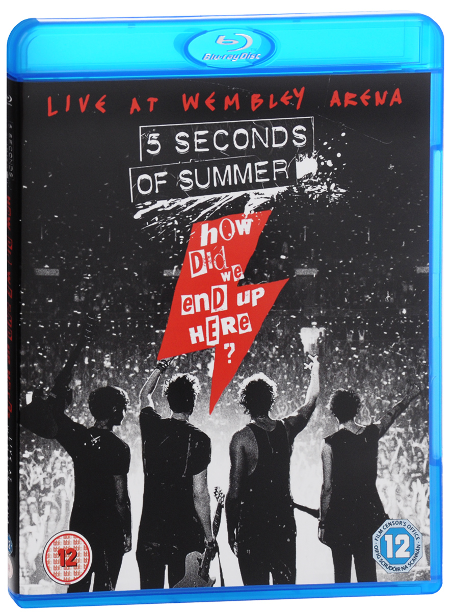 5 Seconds Of Summer: How Did We End Up Here? Live At Wembley Arena (Blu-ray) genesis live at wembley stadium