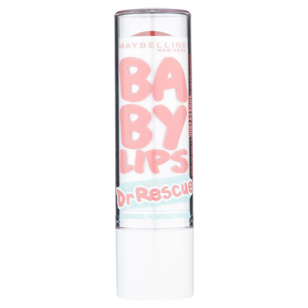 Maybelline New York Бальзам для губ Baby Lips, Доктор Рескью, восстанавливающий и увлажняющий, Эвкалипт, 1,78 млYRU03265Бейби Липс Доктор Рескью Эвкалипт максимально увлажняет губы. Результат виден уже через 60 секунд после нанесения!