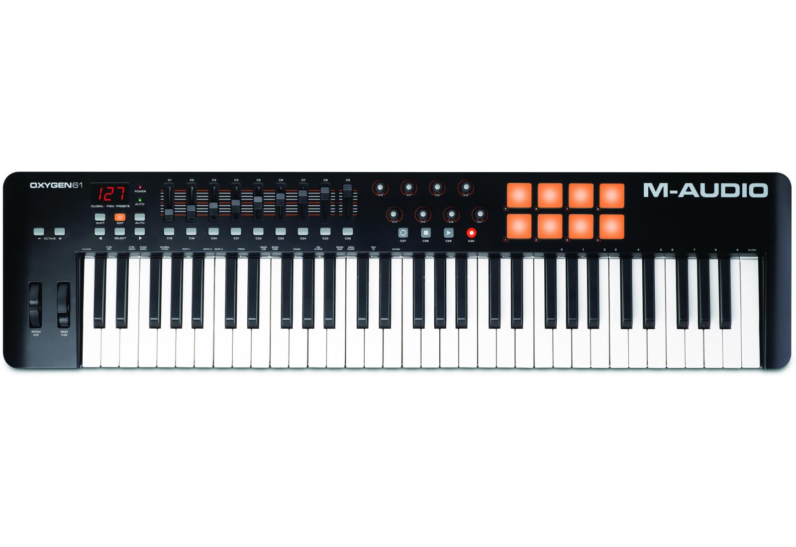M-Audio Oxygen 61 IV Midi-клавиатура - Клавишные инструменты и синтезаторы